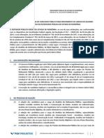 Edital - DPE-RO - Concurso de Servidores 2015
