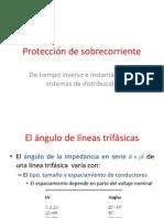 Protección de sobre corriente