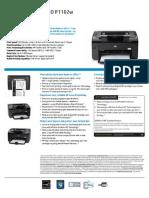 Impresora HP 1102w