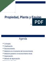 Propiedad, Planta y Equipo - El Salvador