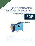 Método de Iniciación a La Guitarra Clásica - Libro Del Profesor