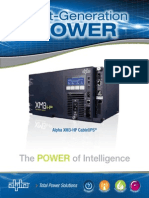 Power supply alpha XM-3 2013