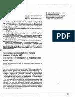 Sexualidad comercial en Francia durante el siglo XIX