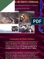 Modelos Depositos Fe Chilenos