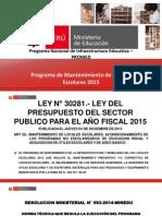 Ppt Mantenimiento 2015