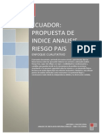 Analisis Riesgo Pais-ECUADOR