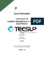 Electricidad Informe Semana 10