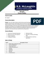 grade 12 course outline second semester 2014