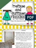 PrefixesandSuffixesFREEBIE.pdf