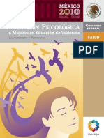 Manual Atencion Psicologica