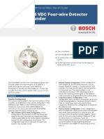 Bosch - Smoke Detector With Sounder