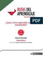 Fascículo Matemática-VII Ciclo 2015_ED