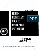 Liquid Rocket Propulsion Instabilities
