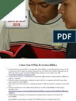 2015 Plan de Lectura