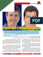 Carlos Bru y Wilman Cardozo