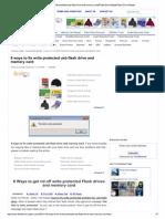 8 Ways to Fix Write Prot..