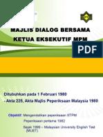 Majlis Dialog - STPM