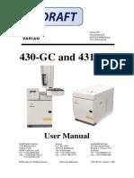 Varian 430 Manual