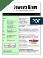 March 2015 Draper PTA Newsletter