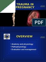 13 Trauma in Pregnancy - Copy