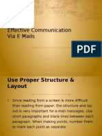 Tips for Effective Email Writing