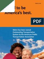 LA Metro - apta awards
