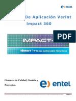 Manual Verint Impact 360 Año 2014