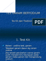 Tes Garam Beryodium