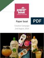 Paper Boat Presentation