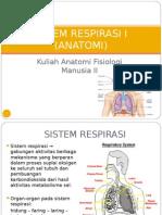 Sistem Respirasi i 2013-2014