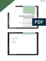 HCT_2014s1 - 01 - Ideias e Registro de Informações