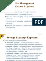 FX Risk Hedging