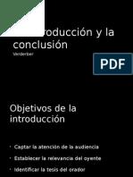 Introducciones y Conclusiones