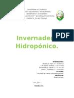 Casa de Cultivos Hidroponicos