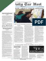 The Daily Tar Heel for Mar. 2, 2015
