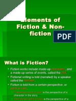 Elements of Fiction Non-fiction