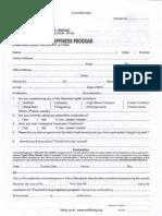 Art of Living Registration Form