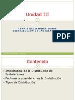 Unidad III Tema 3 Distribucion de Planta PDF VF