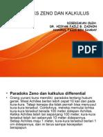 Paradoks Zeno Dan Kalkulus