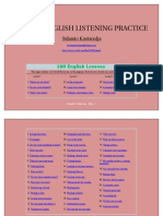 Online English Listening Practice with 100 English Dialogues