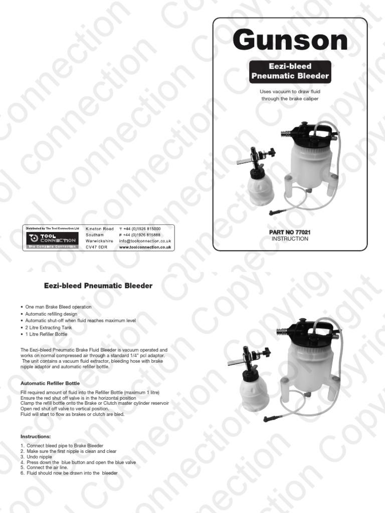Gunson 77002 Brake Fluid Tester