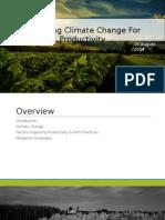 Presentation on Climate Change
