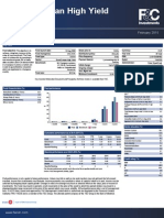 Fc Sicav European High Yield Bond Factsheet