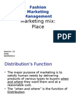 Fashion Mkt Mgt Place_Session 10