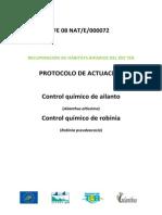 Protocolo Ailanto Robiniaprotocolo ailanto robinia