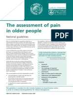 Assessment of Pain in Older People