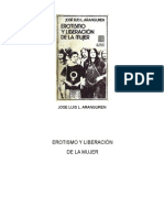 Erotismo y Liberacion de La Mujer - Jose Luis Aranguren