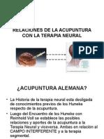 Relaciones de La Acupuntura Con La Terapia Neural