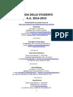 Guida Dello Studente 2014 15