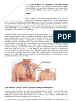 Cardio Desfibrilador Automático Implantable